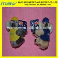 Plüsch und gefüllt koala Spielzeug/koala mit nationalflagge