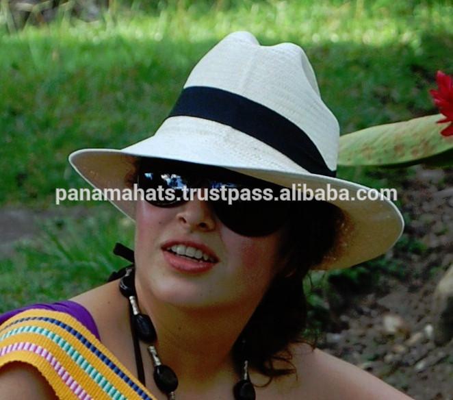 ปานามาfinoเสริมของของแท้ที่ทำด้วยมือหมวกปานามา