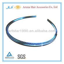 thin plastic headband with teeth for diy