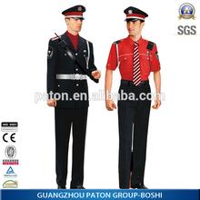 Baratos de seguridad ropa de trabajo uniforme, caliente estilo uniforme, guangzhou barato el precio de fábrica