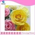 2015 caliente venta de flores artificiales de papel para bodas( sfcg- 06)
