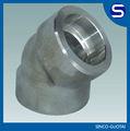 Forjado pipa/de acero forjado instalación de tuberías/instalación de tuberías b16.9 asme