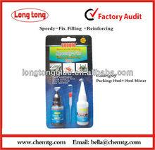 Grey rapid repair fix welding powder with instant Adhesive 10ml+10ml