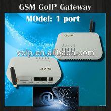 Hot voip gateway! 1 port gsm goip gateway,keyboard for gateway