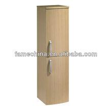 New wood veneer wall bathroom cabinet/vanity/furniture side cabinet storage
