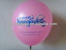 Silk printing round balloon