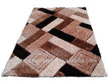 2015 3D polyester shaggy carpet