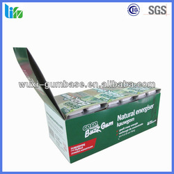 Hot selling energy xylitol Guarana spearming chewing gum