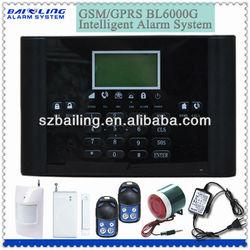 cheap GSM/SMS auto-dail 99 zone wireless buglar alarm system made in china