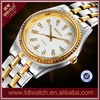 Luxury Golden Stainless Steel Band Couple Vogue Watch On Sale