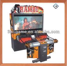 "52""55"" Simulator Coin Operated Large Ramdo Video Shooting Arcade Game machine"