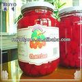 Cereja em conserva de frutas em calda e exportador, com o melhor preço para venda