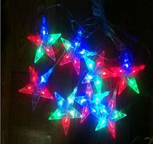 good quatily 5m 50leds 4w 220v/110v wholesale led christmas lights energy star CE&RoHS certificated