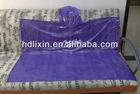 Adult Purple Disposable Ponchos/rain poncho