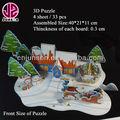 3d feliz natal jogos de puzzle