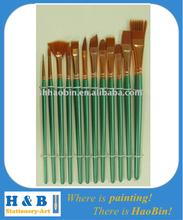 craft arylic paint brush set