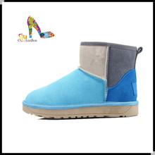 2013 fashion beautiful high heels snow boots women