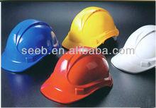 Herringbone ABS/HDPE/PP custom safety helmet