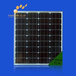75W price per watt solar panels for solar products, solar system