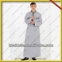 Reasonable Price For Men Arab Thobe Omani Style Saudi Thobe Islamic Men Thobe for sale KDT506