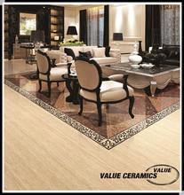 glossy double loading polished porcelain floor tile