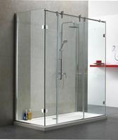 Industries frameless sliding bathroom glass shower door accessories