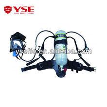 Chemical air breathing apparatus/scba