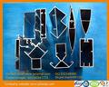 6000 serie naturale profilo in alluminio anodizzato per il solare telaio
