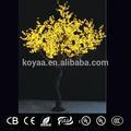Ano novo gigante árvore de natal venda fz-2400 amarelo