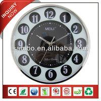 [MEILI] Plastic Quartz Wall Clock For Festerval Gift