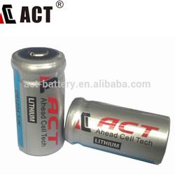 CR123A Li-MnO2 battery CR17335 1500mAh security alarm sensor battery wireless alarm battery back-up