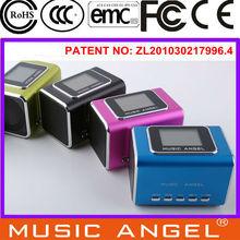 Music Angel U disk SD/TF FM USB tablet speaker dock