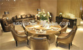 clássico de luxo mobília da sala de cinza de couro chesterfield cadeira de jantar