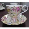 china manufacturer factory direct business gift custom orange ceramic mug with gold color printing