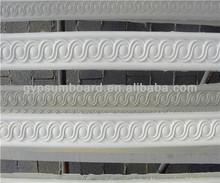 decorative high qulity popular gypsum cornice/ cover gypsum cornice/selling the mould