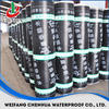 cheap 2/3/4mm SBS/APP bitumen waterproof membrane, roll building roof asphalt material / aluminum foil sheet