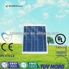A Grade Bluesun high quality 12V poly 10 watt solar panel
