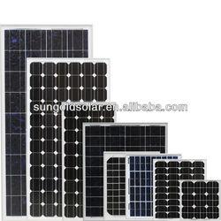 2013 high efficiency polycrystalline solar panel frame plastic for home use