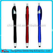 2015 wholesale sample metal branded new design stylus pen touch pen