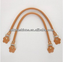 Hotsell factory price 50/60cm fashion handmade synthetic leather handbag handle