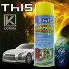 450ml plastic dip paint car spray plastic dip