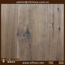 Antique Distressed Oak Timber Floor/Antique Smoked Timber Flooring For Home