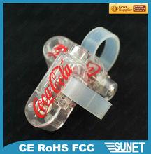 Hot selling promotion gift flashing led ring light