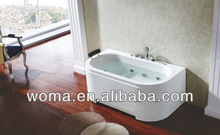 Acrylic freestanding hydro japan sex massage tub massage Bathtub with Air Bubble Q365