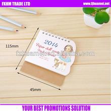 paper doll mate mini calendar 2014