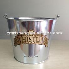 5L customized logo metal ice bucket
