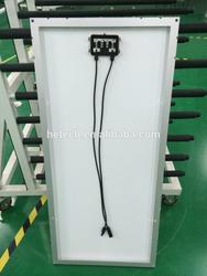 Monocrystalline 100w solar panel price from China supplier