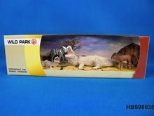 Plastik orman hayvan oyuncaklar, plastik vahşi hayvan oyuncak