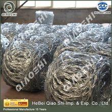 Top manufacture Flat Razor barbed wire price