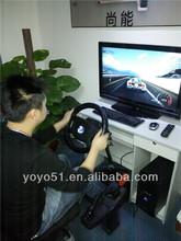 Reino unido tren simulador de conducción en línea de la mano izquierda o la mano derecha 3d simulador de conducción de automóviles
